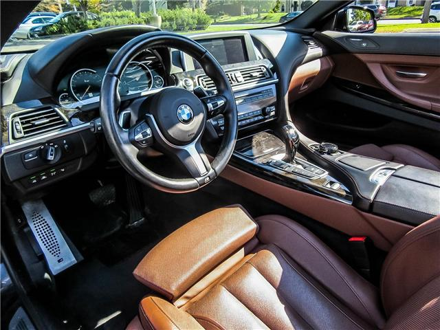 2015 BMW 650i xDrive (Stk: P8549) in Thornhill - Image 9 of 22