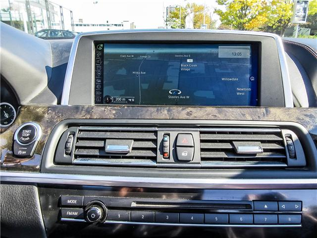 2015 BMW 650i xDrive (Stk: P8549) in Thornhill - Image 19 of 22