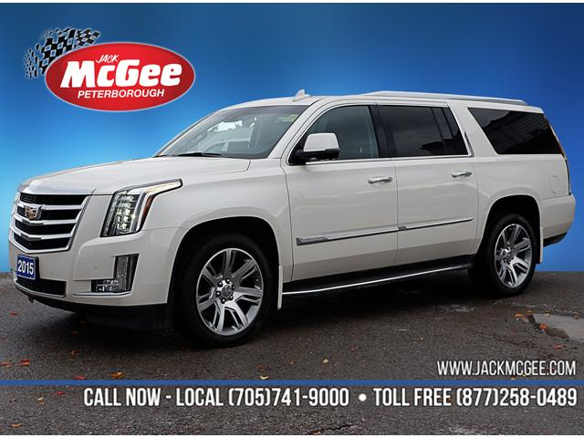 2015 Cadillac Escalade ESV Luxury (Stk: 19028A) in Peterborough - Image 1 of 21