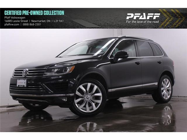 2016 Volkswagen Touareg 3.6L Execline (Stk: 19291) in Newmarket - Image 1 of 21