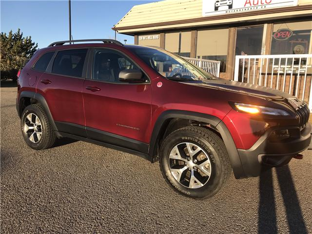 2018 Jeep Cherokee Trailhawk (Stk: B2130) in Lethbridge - Image 1 of 23