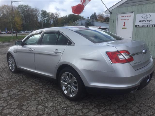 2012 Ford Taurus Limited (Stk: -) in Kincardine - Image 3 of 14