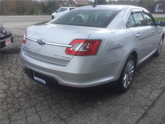 2012 Ford Taurus Limited (Stk: -) in Kincardine - Image 5 of 14