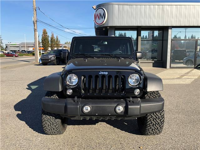 2018 Jeep Wrangler JK Unlimited Sport (Stk: 18-901400) in Abbotsford - Image 2 of 16