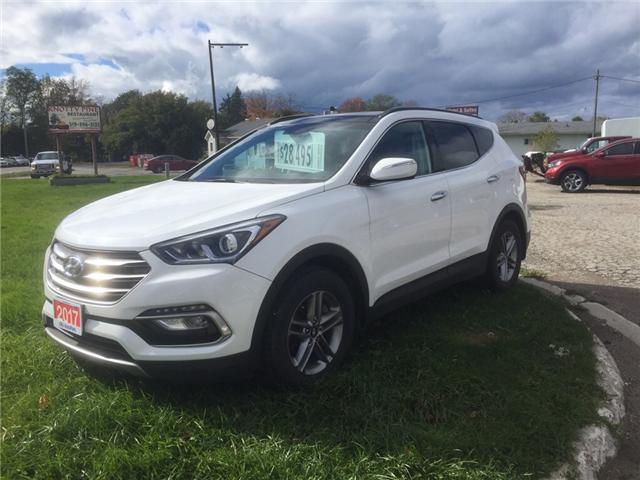 2017 Hyundai Santa Fe Sport 2.4 Luxury (Stk: -) in Kincardine - Image 1 of 13