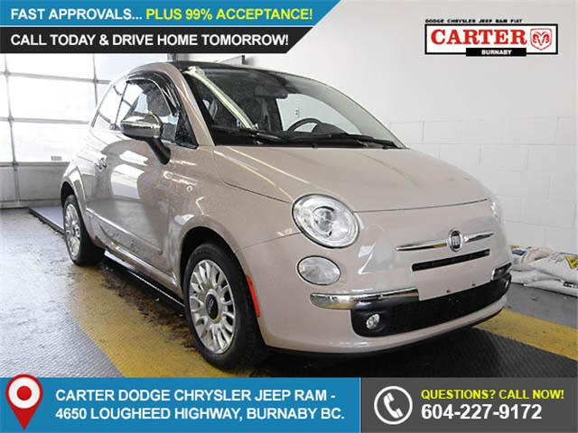 2012 Fiat 500 Lounge (Stk: 9-6003-0) in Burnaby - Image 1 of 23