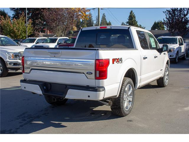 2018 Ford F-150 Platinum (Stk: 8F12020) in Surrey - Image 8 of 29