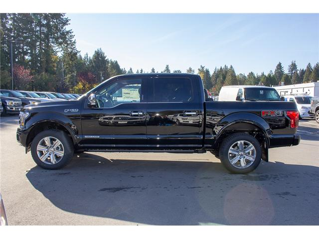 2018 Ford F-150 Platinum (Stk: 8F19281) in Surrey - Image 4 of 29
