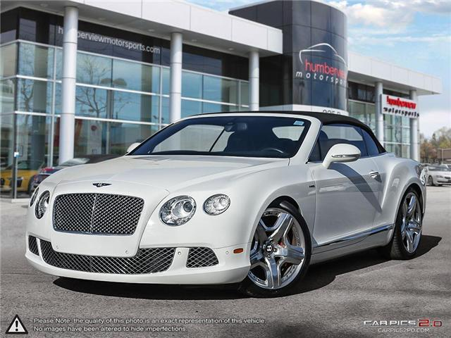 2012 Bentley Continental GT 2dr Conv (Stk: 18MSC631) in Mississauga - Image 1 of 27