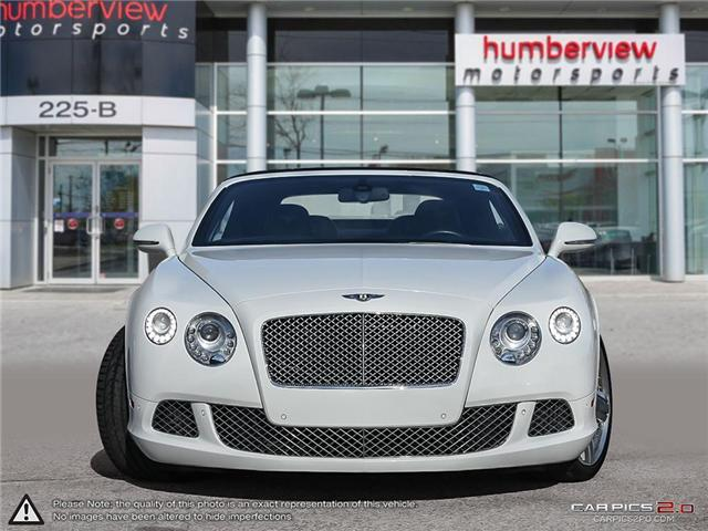 2012 Bentley Continental GT 2dr Conv (Stk: 18MSC631) in Mississauga - Image 2 of 27