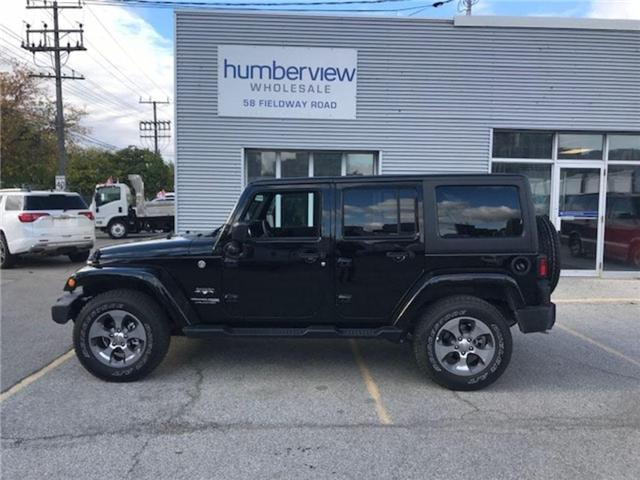 2018 Jeep Wrangler JK Unlimited Sahara (Stk: 1C4BJW) in Etobicoke - Image 1 of 5