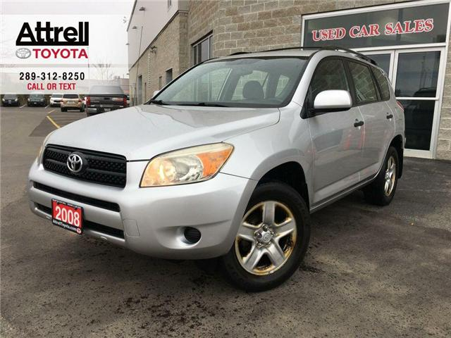 2008 Toyota RAV4 SUV 4 WHEEL DRIVE, ROOF RACK, ABS, POWER GROUP, KE (Stk: 42360A) in Brampton - Image 1 of 23