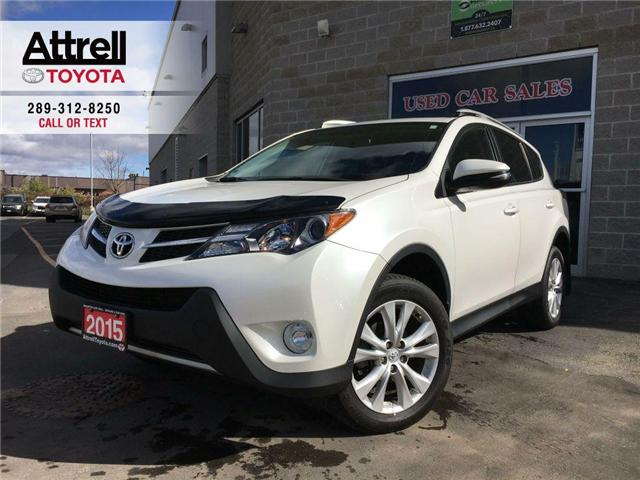 2015 Toyota RAV4 LIMITED AWD NAVI, POWER HATCH, LEATHER, SUNROOF, A (Stk: 42298A) in Brampton - Image 1 of 28