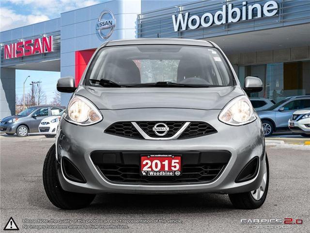 2015 Nissan Micra SV (Stk: P7116) in Etobicoke - Image 2 of 20