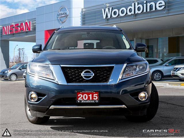 2015 Nissan Pathfinder SL (Stk: P7027) in Etobicoke - Image 2 of 22