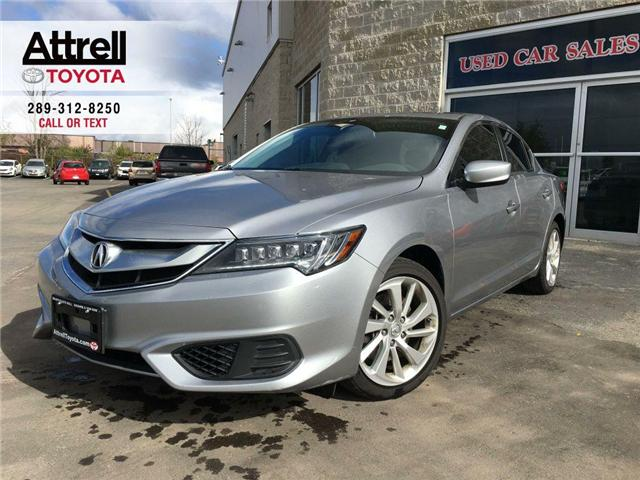 2017 Acura ILX LEATHER, SUNROOF, ALLOY WHEELS, BACK UP CAMERA, AB (Stk: 42410A) in Brampton - Image 1 of 26