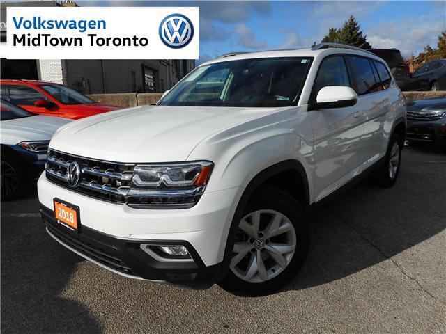 2018 Volkswagen Atlas 3.6 FSI Highline (Stk: P7091) in Toronto - Image 1 of 30