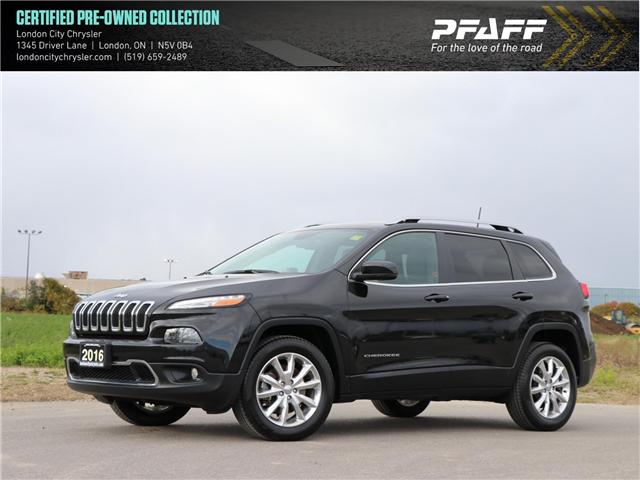2016 Jeep Cherokee Limited (Stk: 9305A) in London - Image 1 of 25