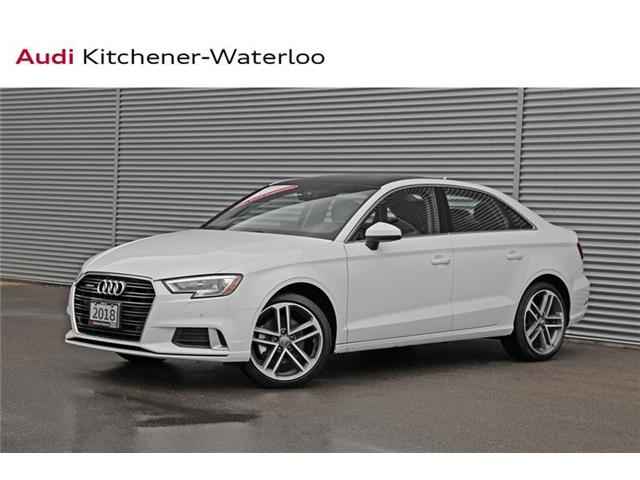 2018 Audi A3 2.0T Progressiv (Stk: 2A2011) in Kitchener - Image 1 of 21