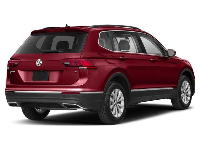 2018 Volkswagen Tiguan Highline (Stk: JT195625) in Surrey - Image 3 of 9