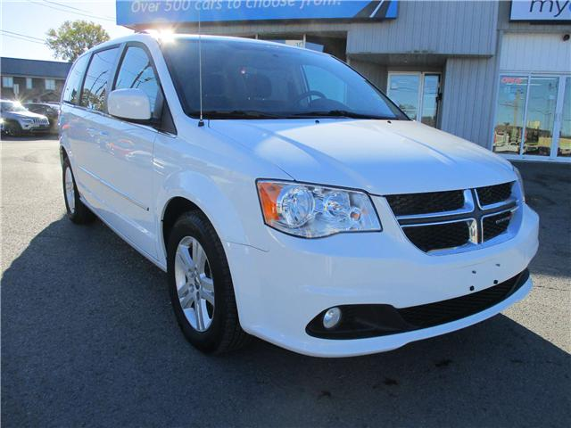 2017 Dodge Grand Caravan Crew (Stk: 181537) in Kingston - Image 1 of 12