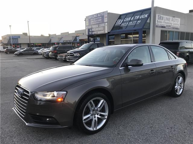 2014 Audi A4 2.0 Technik (Stk: ) in Concord - Image 1 of 20
