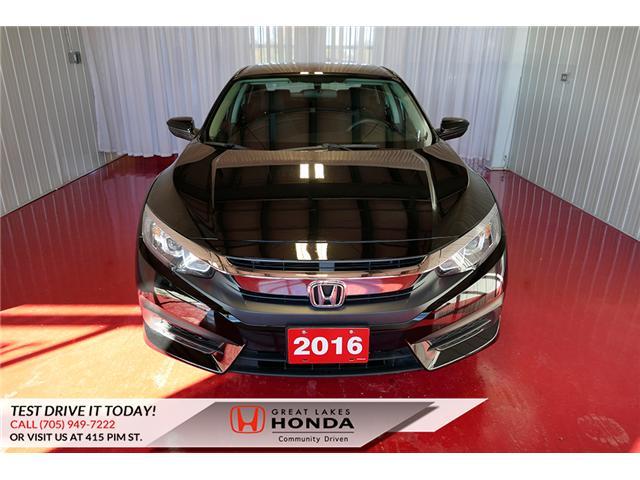 2016 Honda Civic LX (Stk: HP552) in Sault Ste. Marie - Image 2 of 23