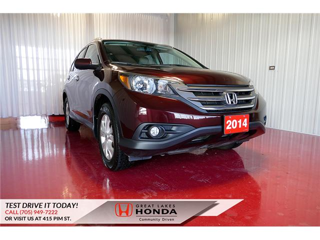2014 Honda CR-V Touring (Stk: H6033A) in Sault Ste. Marie - Image 1 of 25