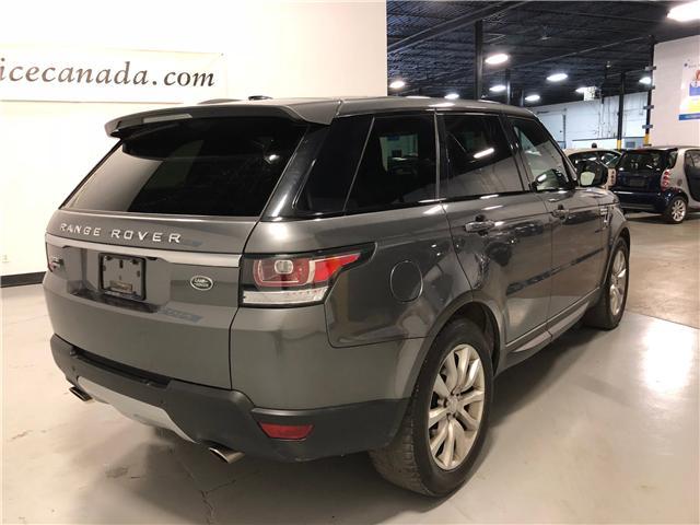 2015 Land Rover Range Rover Sport V6 SE (Stk: W9885) in Mississauga - Image 8 of 28