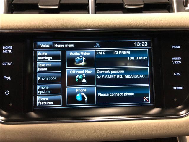 2015 Land Rover Range Rover Sport V6 SE (Stk: W9885) in Mississauga - Image 19 of 28