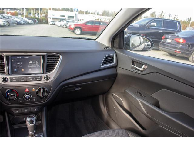 2019 Hyundai Accent Preferred (Stk: KA047132) in Abbotsford - Image 13 of 25