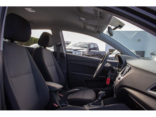 2019 Hyundai Accent Preferred (Stk: KA047132) in Abbotsford - Image 16 of 25