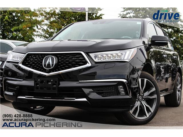 2019 Acura MDX Elite (Stk: AT157) in Pickering - Image 1 of 9