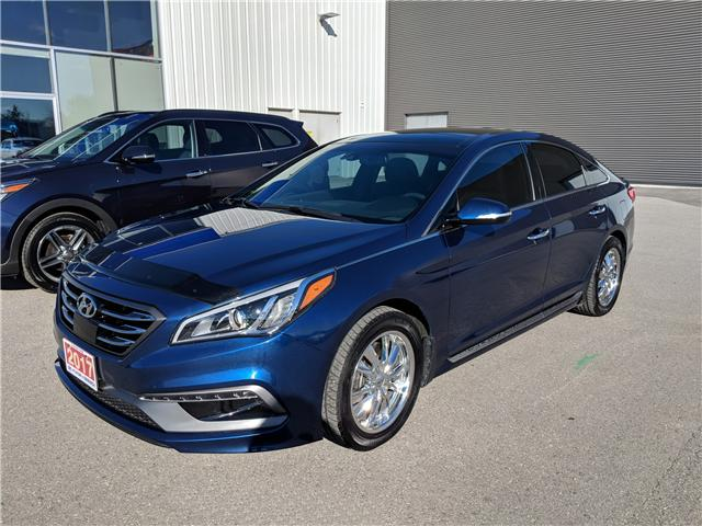 2017 Hyundai Sonata 2.0T Sport Ultimate (Stk: 80171A) in Goderich - Image 2 of 17