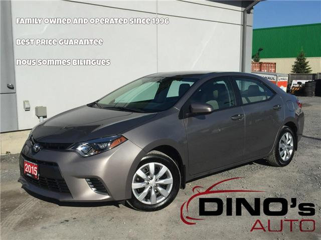 2015 Toyota Corolla CE (Stk: 478060) in Orleans - Image 1 of 27