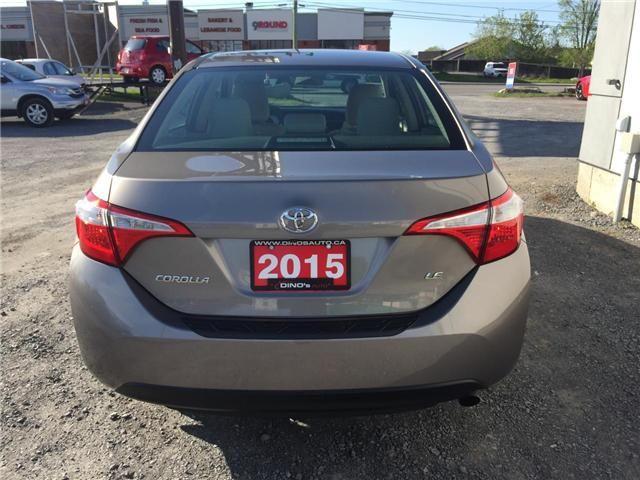 2015 Toyota Corolla CE (Stk: 478060) in Orleans - Image 3 of 27