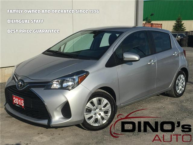 2015 Toyota Yaris SE (Stk: 045970) in Orleans - Image 1 of 23