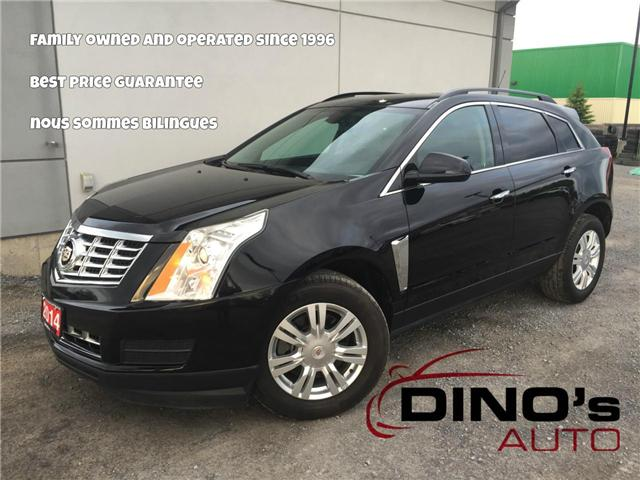 2014 Cadillac SRX Base (Stk: 611289) in Orleans - Image 1 of 23