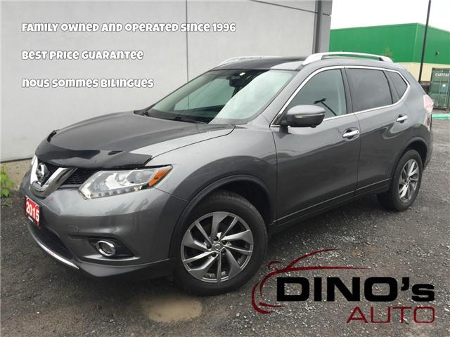 2015 Nissan Rogue S (Stk: 757464) in Orleans - Image 1 of 30