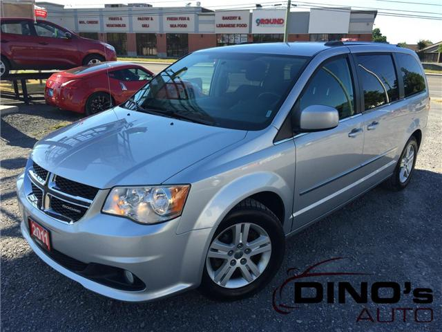 2011 Dodge Grand Caravan Crew (Stk: 744290) in Orleans - Image 1 of 28