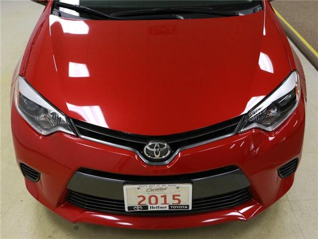 2015 Toyota Corolla LE (Stk: 186224) in Kitchener - Image 23 of 27