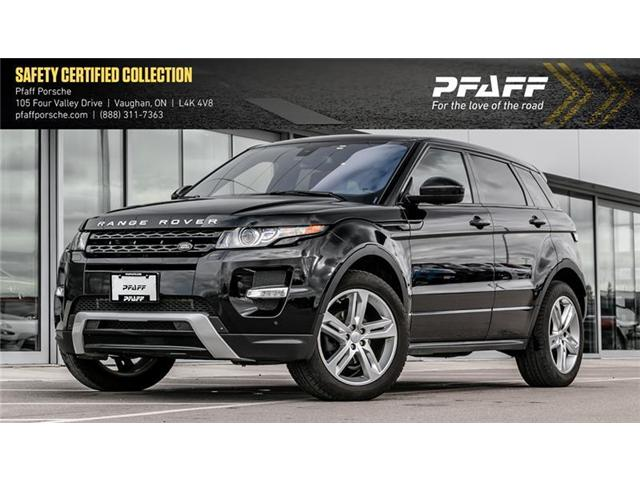 2015 Land Rover Range Rover Evoque Dynamic (Stk: P13122A) in Vaughan - Image 1 of 17