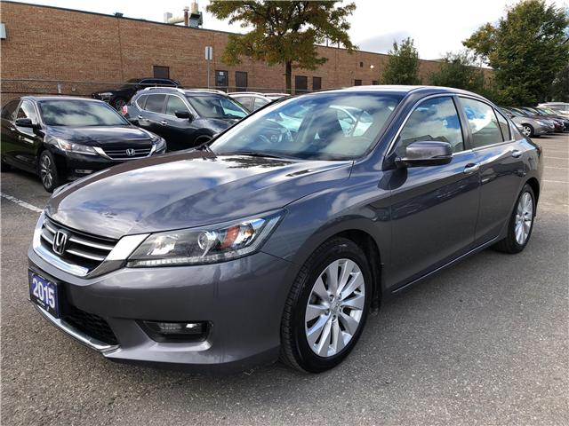 2015 Honda Accord EX-L (Stk: 807116T) in Brampton - Image 1 of 21