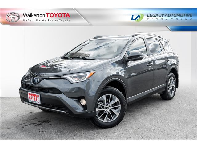 2018 Toyota RAV4 Hybrid LE+ (Stk: P8175) in Walkerton - Image 1 of 23