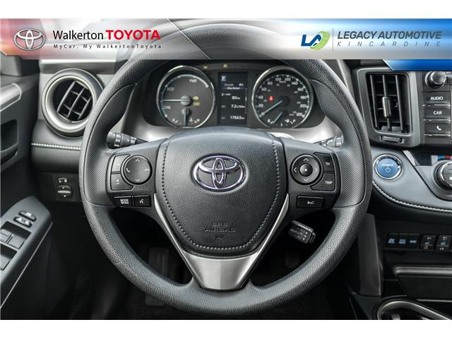 2018 Toyota RAV4 Hybrid LE+ (Stk: P8175) in Walkerton - Image 13 of 23