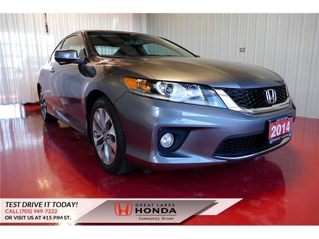 2014 Honda Accord EX-L-NAVI (Stk: H6044A) in Sault Ste. Marie - Image 1 of 27