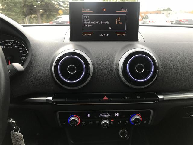 2015 Audi A3 2.0 TDI Progressiv (Stk: ) in Concord - Image 18 of 19