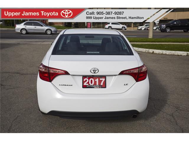 2017 Toyota Corolla LE (Stk: 74868) in Hamilton - Image 6 of 18