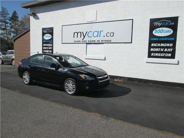 2014 Subaru Impreza 2.0i Sport Package (Stk: 181515) in North Bay - Image 2 of 14