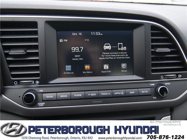 2018 Hyundai Elantra GL (Stk: h11820a) in Peterborough - Image 13 of 24